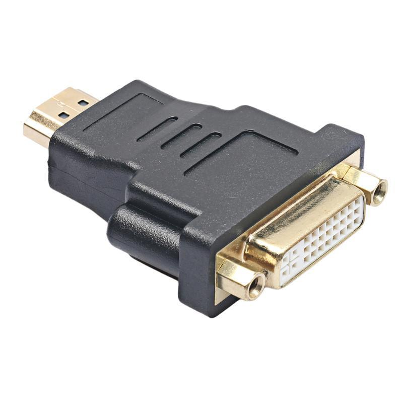 Micro HDMI To DVI Adapter 19Pin Male To DVI 24 + 5 Female Converter Adapter For PS3 HDTV Video Player