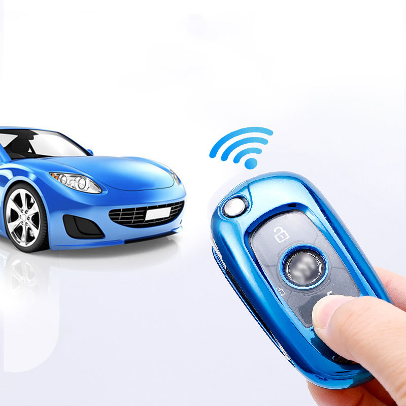 cheapest TPU Car Key Cover Protect For Opel Vauxhall Astra K Corsa E For Buick VERANO ENCORE GX GL6 2019 2020 Key Case Covers