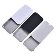 Pill-Cases Container Storage-Box Cosmetic-Organizer Slide-Cover Mini Wedding-Jewelry