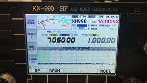 Image 2 - النسخة الإنجليزية KN 990 HF 0.1 ~ 30MHz SSB/CW/AM/FM/IF DSP الرقمي الهواة لحم الخنزير جهاز الإرسال والاستقبال اللاسلكي الطيف + دليل اللغة الإنجليزية