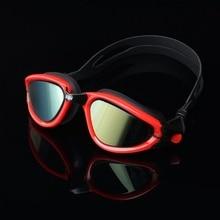 Профессиональные спортивные плавательные очки унисекс большая оправа водонепроницаемые линзы очки Взрослые силиконовые очки Аксессуары для спортивной одежды