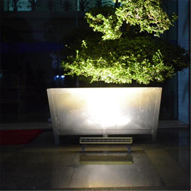 Super Bright LED Solar Powered Panel Street Wall Washers Light Waterproof Home Garden Outdoor Lamp Spotlight Garland Decor 4