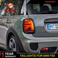 Auto Styling Fall Für BMW MINI F55 F56 F57 2014-2016 Led Rückleuchten Nebel lampe Hinten Lampe DRL + bremse + Park + Signal lichter