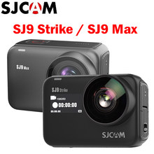 SJCAM SJ9 Series SJ9 Strike/Max GYRO/ego 10m cuerpo impermeable 4K cámara de acción en vivo Streaming 2,4G Wifi deportes Video DVR Cámara(China)