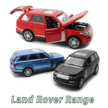 New Type 4 Colors Alloy Car Mini landrover Range Diecast Car Model 1:32 Car Toys Tomica Magic Track Vehicle Toy Gift for Boys(China)