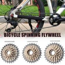 6/7/8 velocidade da bicicleta roda livre rosca ou cassete para mountain bike estrada bicicleta volante livre cassete