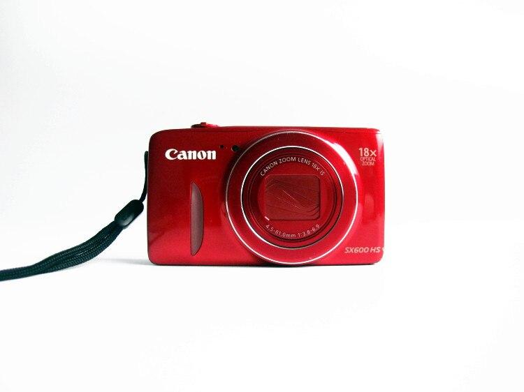 ¡Precio especial usado! Cámara Digital Canon PowerShot SX600 HS 16MP-Wi-Fi activado (rojo) Regalo Idea mesilla de noche despertador Digital con termómetro higrómetro humedad temperatura reloj de mesa escritorio cargador de teléfono