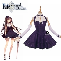FGO Fate/Grand Order Moon Girlfriend Ishtar Cosplay Costume Lolita Dress Halloween Costumes for Girls Women Christmas Party