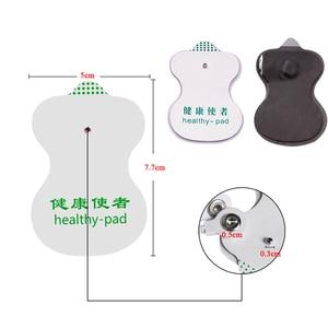 Image 5 - 30/20/10 pièces auto adhésif remplacement dizaines électrodes tampons carré Muscle stimulateur électrique numérique Machine masseur autocollant chaud