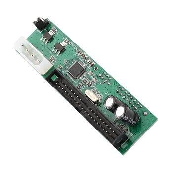 SATA TO PATA IDE Converter Adapter Plug&Play 7+15 Pin 3.5/2.5 SATA HDD DVD Drop Shipping pata ide to sata hard drive adapter converter 7 15 pin 3 5 2 5 dvd hdd parallel to serial ata for cd rom cd rw dvd dvd ram hdd