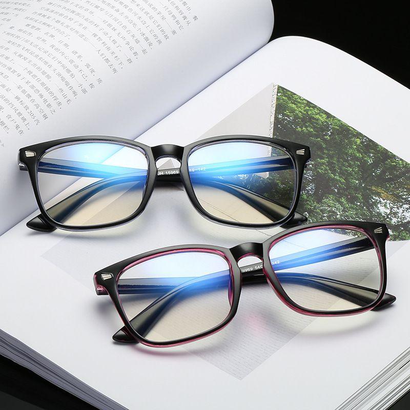 Square Eyeglass Frame Computer Glasses Unisex Anti Blue Light Game Eyeglasses Blue Light Blocking Eyewear Anti-UV New Arrival