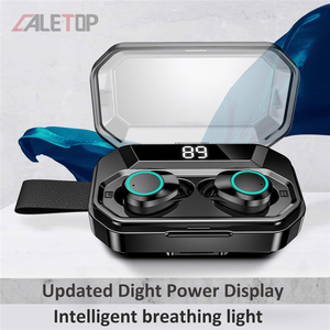 Image 3 - עדכון חדש G02 TWS 5.0 Bluetooth 9D סטריאו אוזניות אלחוטי אוזניות IPX7 עמיד למים אוזניות 3300mAh LED חכם כוח בנק