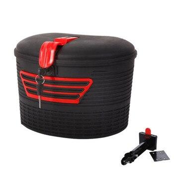 חם HG-חשמלי קטנוע אחסון אחורי סל נשיאה עם מנעול לxiaomi M365 מתקפל חשמלי E-אופני קטנוע
