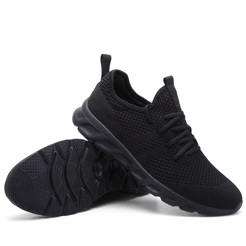 Hot Sale Light Man Running Shoes Comfortable Breathable Men's Sneaker Casual Antiskid and Wear-resistant Jogging Men Sport Shoes 2