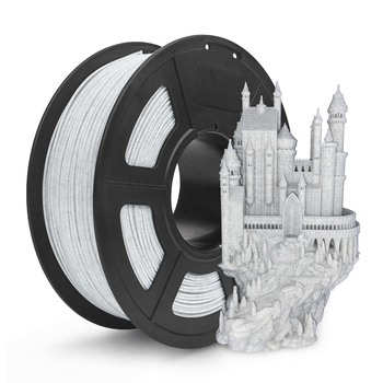 Marmur PLA 3d Filament 1 75MM 1KG Rock tekstury marmur kolor 3D drukarki włókna do drukowania dokładność wymiaru + -0 02mm tanie i dobre opinie 3D Warhorse Stałe Marble PLA Filament Marble PLA 3D Filament 1 75mm 1kg PLA and Marble Toner 3D Printer 3D printing pen