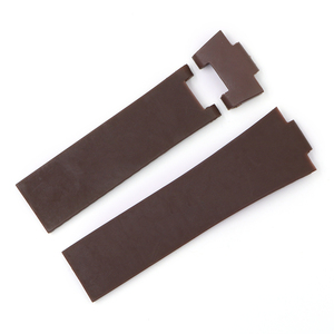 Image 3 - Rolamy 22*10mm / 25*12mm Black Brown Blue Waterproof Silicone Rubber Replacement Wrist Watch Band Strap Belt For Ulysse Nardin