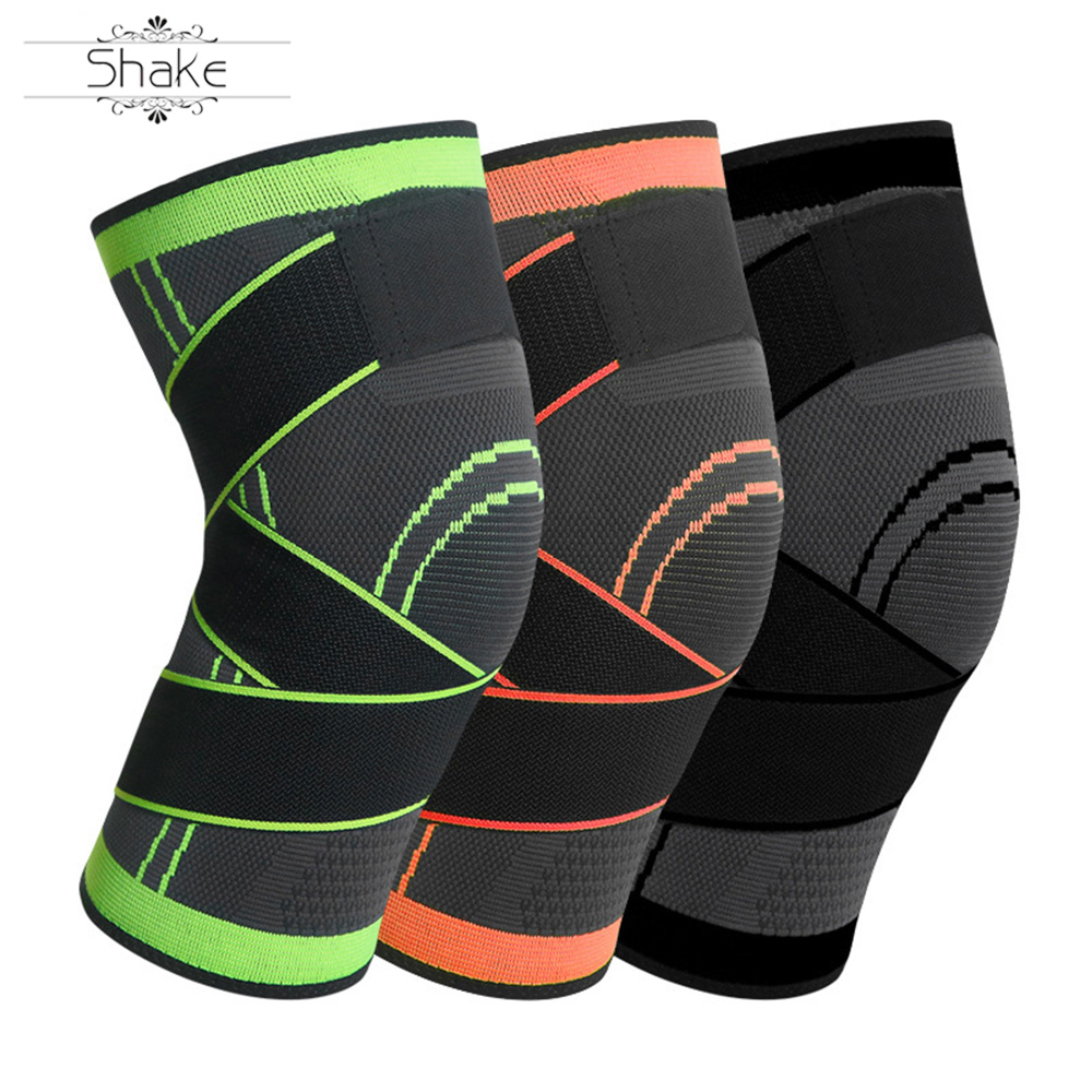 HEHE Wholesale Knee Protector Knee Brace Support For Sport GYM Fitness OEM Custom Logo Hot Sale 2020 New Design