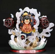 ญี่ปุ่นอะนิเมะOne PieceรูปOne Piece Luffyรูปปั้นPVC Action Figureของเล่นGK Luffyรูปตกแต่งของเล่นเด็กของขวัญ