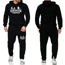 Mens Tracksuits 2019 Stranger Thing Survetement Homme Things Men/Women Sportswear Two Piece Sets Plus Size Track Suit