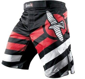 Men boxing pants MMA Fight Grappling Short pant  3D printing Kickboxing Gel Boxing Bjj Muay Thai Pants thai boxing shorts цена 2017