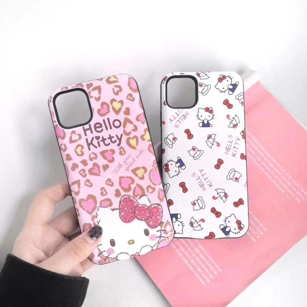 Juice Pack Cartoon Kitty Battery Charger Case For Iphone 11 Pro Max