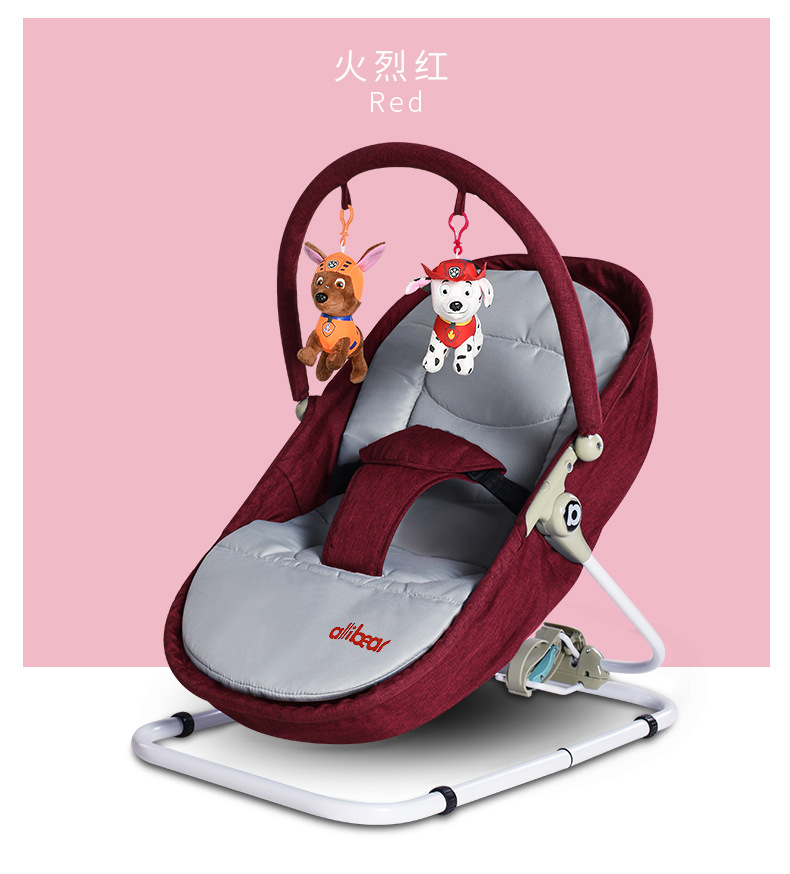 Heee35b22dad4485399e9f9e954d11321s Baby Swing Baby Rocking Chair 2 in1 Electric Baby Cradle With Remote Control Cradle Rocking Chair For Newborns Swing Chair