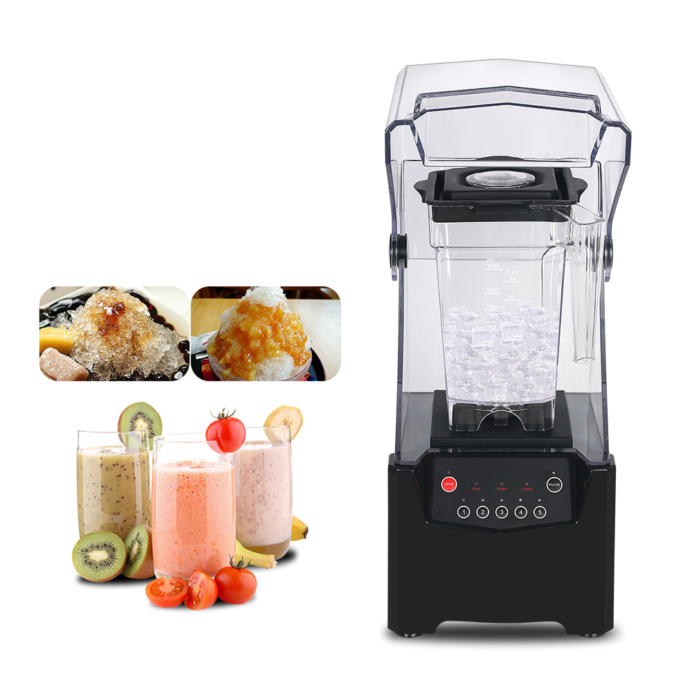 ITOP 1.5L Specialize In Smoothie Blender With Sound Cover Professional Blender 800W Juicer 11000-18000RPM With 5 Speed