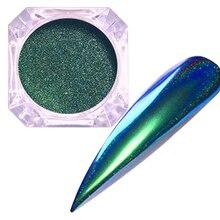 Порошок павлина для ногтей, зеркальный блеск порошок для ногтей, цветной порошок для ногтей, украшение для ногтей, гель для ногтей, пигмент