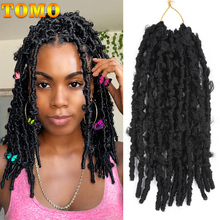 Hair-Extensions Crochet-Hair Braiding Butterfly Pre-Looped Synthetic TOMO Distressed Locs