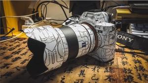 Image 3 - Ltd. Edition المضادة للخدش لصقة جلد صناعي ملصق للكاميرا الجلد سوني A7RIV A7III A7M3 A7R3 A7R4 A9 A6400 A6300 التفاف غطاء حامي