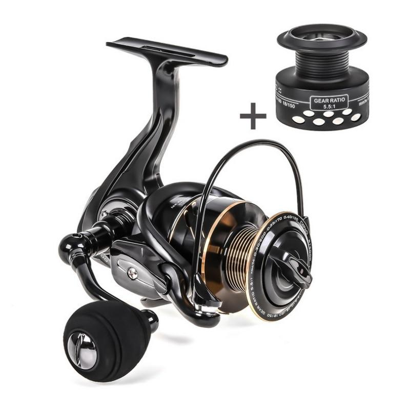 Fishing Reel Metal Coil Spinning Wheel High-Speed Spool Accessories Saltwater Freshwater