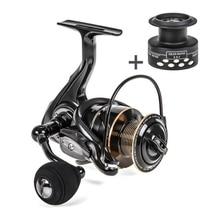 цена на Fishing Reel Metal Coil Spinning Reel Wheel High-Speed Spinning Fishing Spool Fishing Accessories Saltwater Freshwater