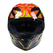 Adult Motorcycle Helmet Full Face Racing Cascos De Moto Capacete De Motocicleta