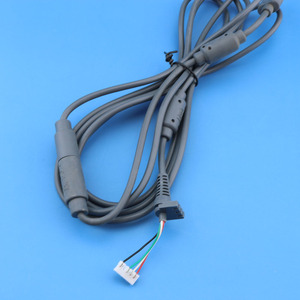Image 5 - 1pc グレー 4Pin 有線コントローラインターフェースケーブル Xbox360/Xbox 360 スリム USB 離脱ケーブルリードコードアダプタラインコネクタ