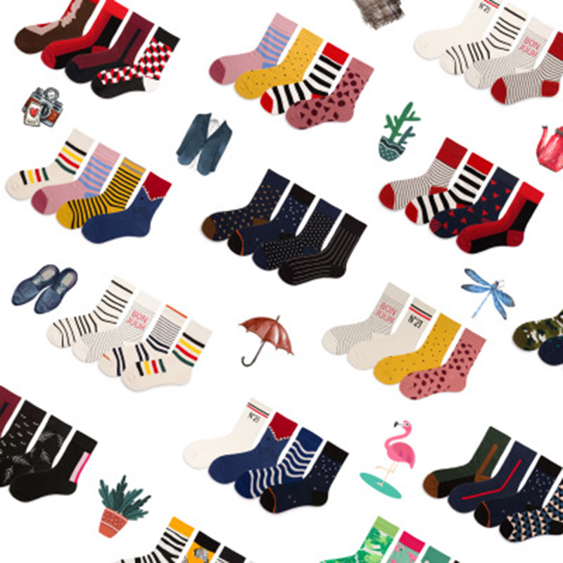 Couple Lover Socks Lovely Harajuku Japanese Style Cotton Women Men Calcetines Mujer Fashion Novelty Cow Printed Socks