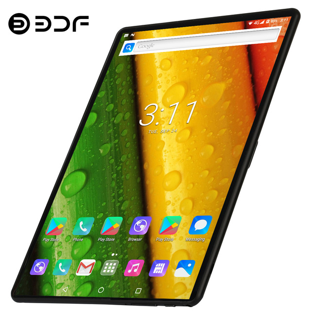 2020 New Arrival 4G LTE Tablets 10.1 inch Android 9.0 Octa Core Brand Tablet Pc Google Play Dual SIM Card GPS WiFi Bluetooth