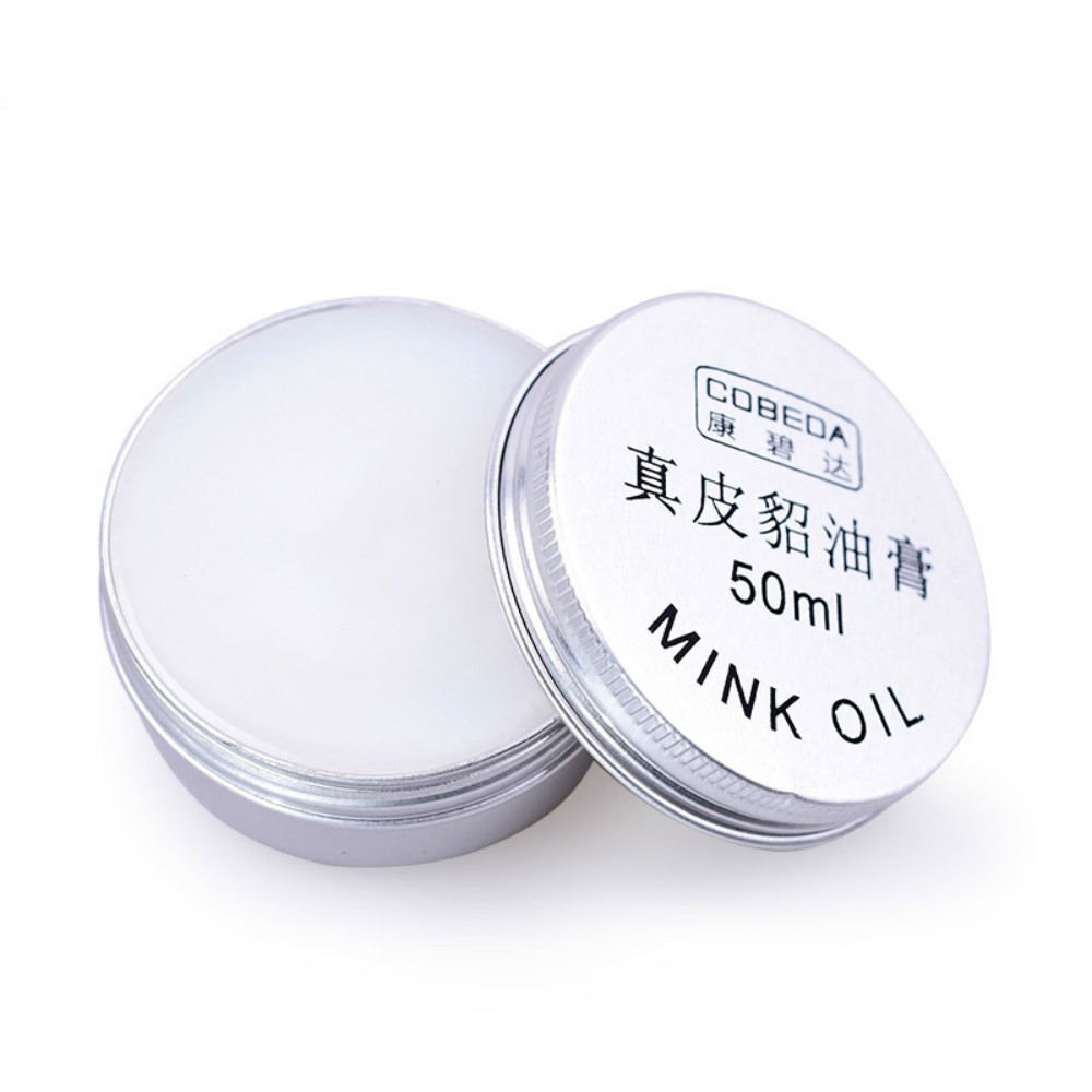1PCS New Oyster Cream Yellow Wolf Cream Leather Goods Leather Shoes Care Cream Shoe Polish Leathercraft Accessories 20/30/50ml