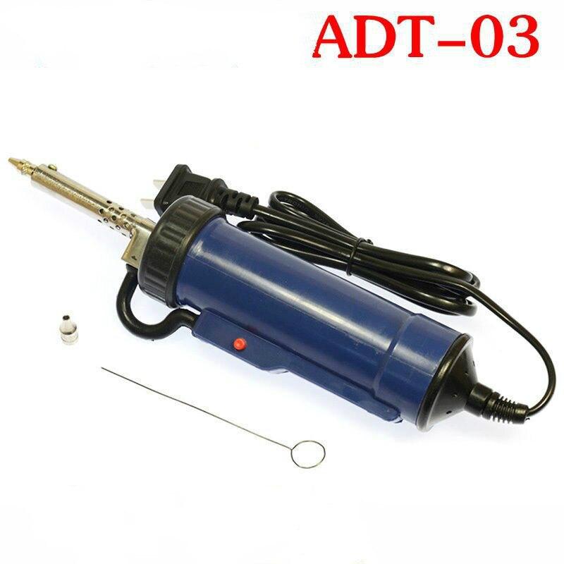 30W vide dessoudage fer pistolet ADT-03 fers à souder électrique aspiration étain pompe démolition composant puce carte mère réparation