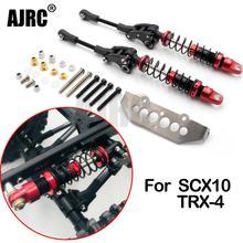 AJRC Racing Metal Shock Absorber kit Upgrade Part for RC Crawler Car Axial SCX10 II 90046 Traxxas TRX-4 TRX4