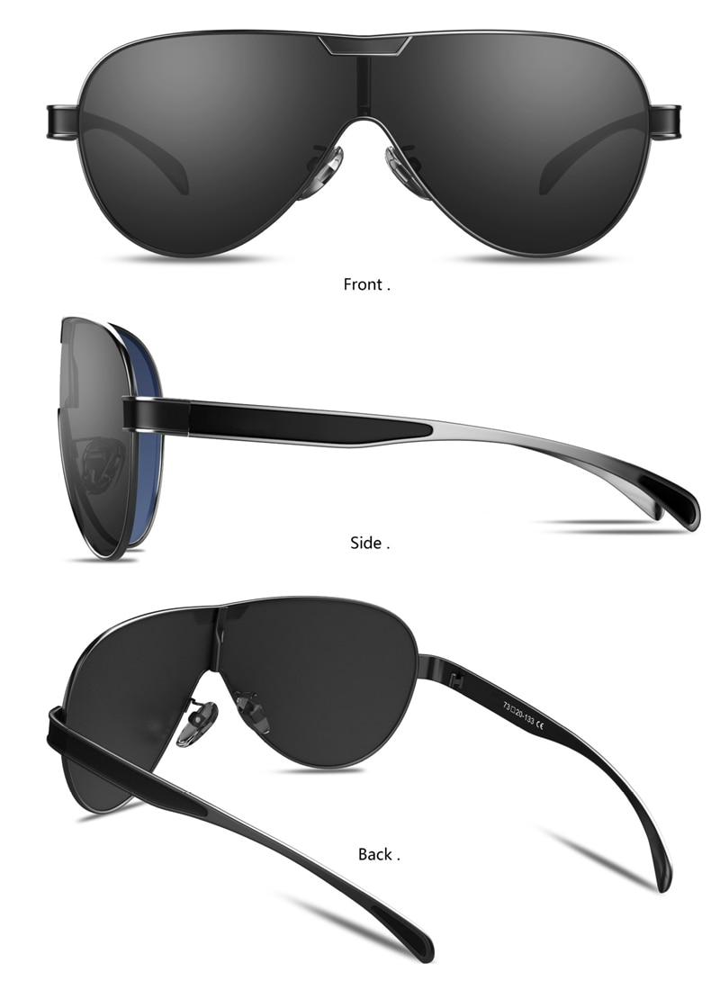 Heee4c775789749ba943e2bb4d4ac25c4i BARCUR Driving Polarized Sunglasses Men Brand Designer Sun glasses for Men Sports Eyewear lunette de soleil homme