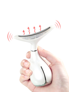 Image 5 - LED Photon Therapy คอและ Face Lifting Massager การสั่นสะเทือนผิวกระชับคางคู่ Anti Wrinkle ลบอุปกรณ์