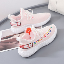 2020 Spring Breathable Women Sneakers Designer Mesh air Light  Casual Shoes lace up Woman Running Shoe 1H02