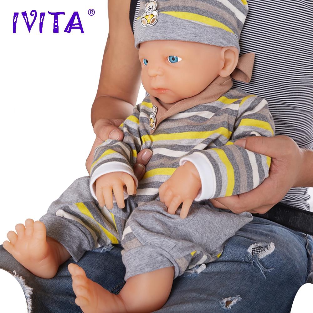 enviar de nos china ivita wb1502 18 polegada 3800g de corpo inteiro silicone realista reborn boneca