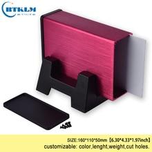 Aluminium enclosure for electronic project box DIY metal jun