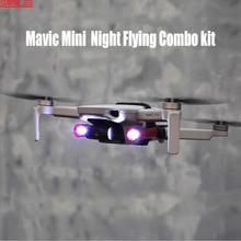 STARTRC DJI Mini 2 Drone gece uçan Combo kiti genişleme kiti kolay taşıma W/ LED işıkları DJI mavic mini Drone aksesuarları