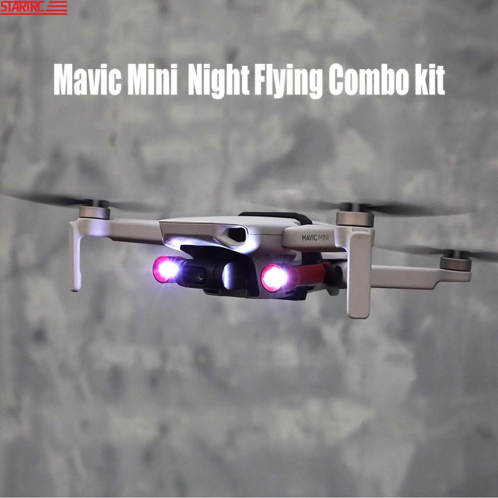 STARTRC Mavic Mini Drone Night Flying Combo Kit Expansion Kit Easy Carring W  LED Lights For DJI Mavic Mini Drone Accessories