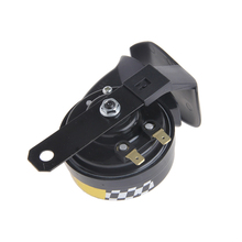 Universal Waterproof Loud Snail Air Horn Siren 130dB For 12V Motorcycle