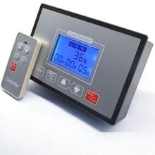 LCD الذكية شاشة ديجيتال 0 ~ 100% قابل للتعديل 60A PWM وحدة تحكم في سرعة محرك التيار المستمر توقيت عكسها التحكم عن بعد 12 فولت 24 فولت 36 فولت 48 فولت