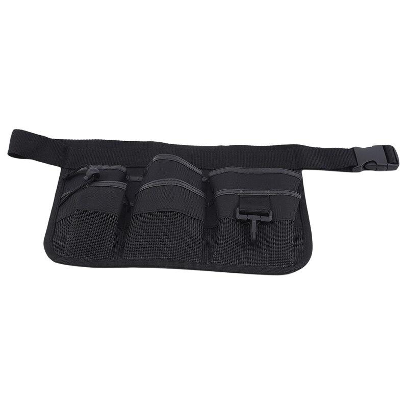 Поясная сумка, поясная сумка, поясной карман, сверхпрочный фартук из ткани Оксфорд для инструментов, с 7 карманами, для инструментов электри...