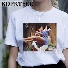 Dark Snow White Harajuku T Shirt Women Ullzang Vintage 90s Aesthetic T-shirt Korean Tshirt Fashion G